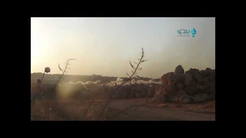 Russland bestraft die Banditen bei Aleppo in Syrien 01.08.2016