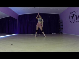 Dancehall routine by Asya Fab | Stefflon Don - 16 Shots