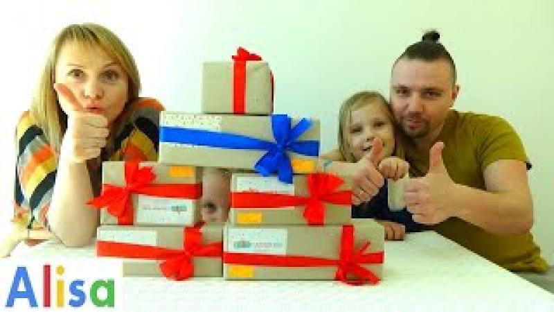 Распаковка кучи СЮРПРИЗОВ Круче киндеров! Open parcels from surprise box » Freewka.com - Смотреть онлайн в хорощем качестве