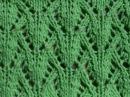 Ажурный узор Вязание спицами