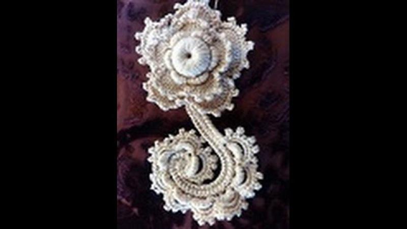 Irish lace Уроки вязания крючком ирландского кружева начинающим. С чего начать создание изделия?
