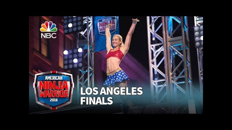 Jessie Graff at the Los Angeles Finals - American Ninja Warrior 2016