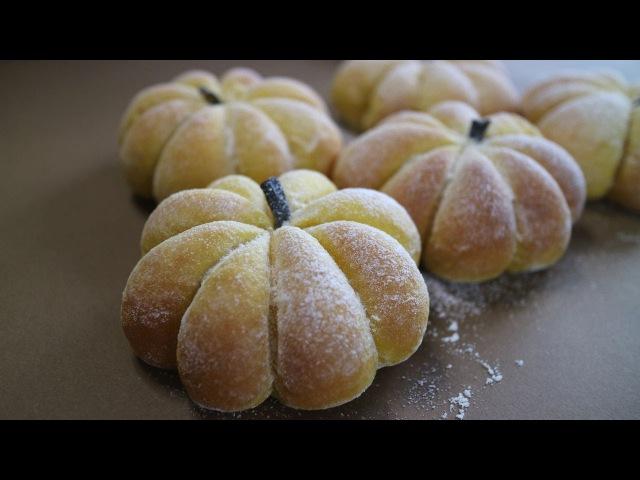 Pumpkin bread Moist Fluffy  南瓜パン めちゃふんわり~