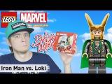 LEGO Juniors: Iron Man vs. Loki (10721) - Brickworm