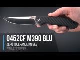 Zero Tolerance Sinkevich 0452CFM390BLU Limited Edition Flipper Overview