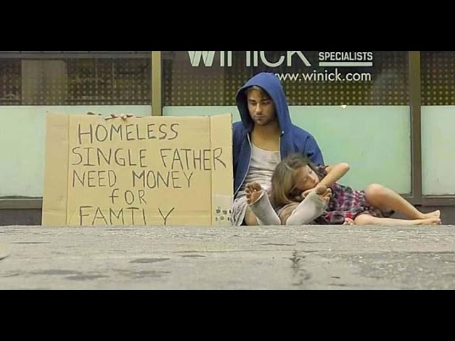 Бездомный наркоман против Бездомного отца! Кто получит больше денег?Соц. Экспер ...