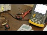 Deteknix и тест на задержку при помощи осциллографа Wire Free WR Lite