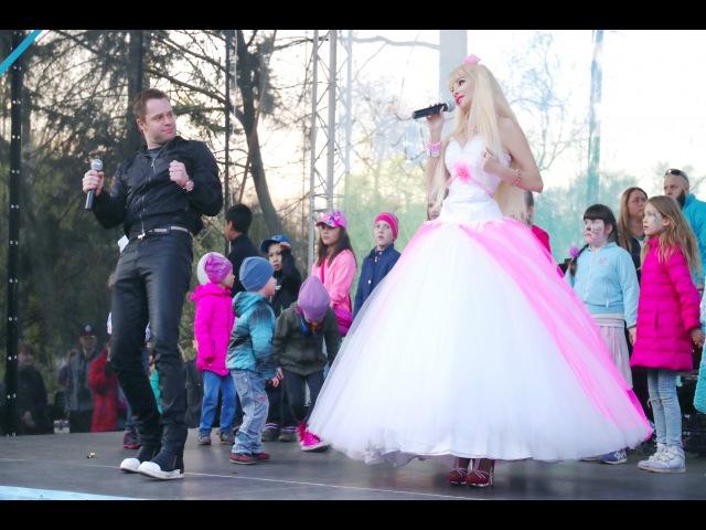 Barbie Girl на русском языке Виталий Гогунский актер сериала Универ Кузя певица Тать ...
