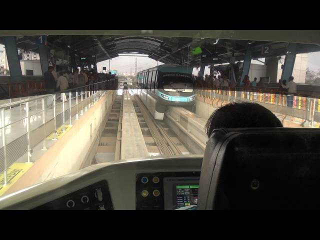 Porsche Mumbai Monorail Driver Cabin View Coverage with an amazing termination at Chembur Mumbai
