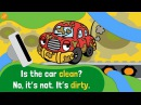 Opposite Words and Adjectives Chant 2 - Pattern Practice for Kids by ELF Learning