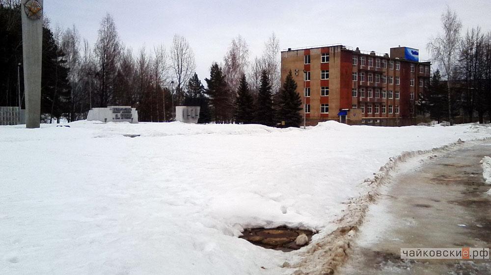 лужи, Чайковский, 2016 год