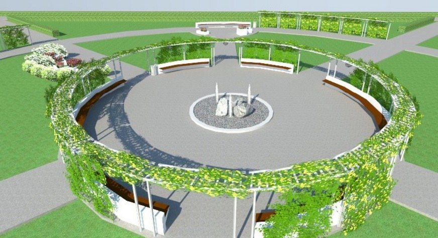 проект Сад ароматов, Чайковский, 2017 год
