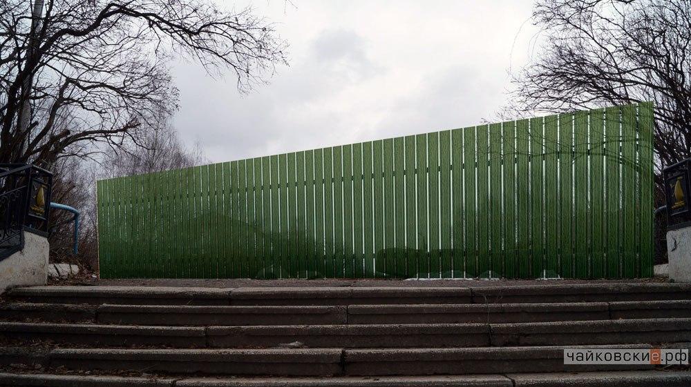 Речной вокзал, Чайковский, 2017 год