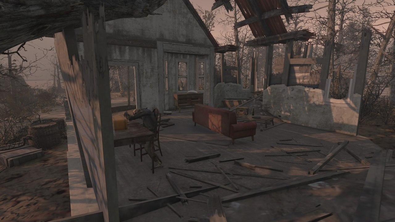 В дополнении Far Harbor для Fallout 4 есть незаконченная локация