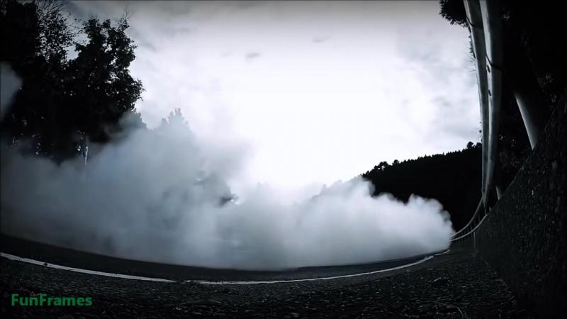 Nissan GT-R mountain drift by Masato Kawabata 2014