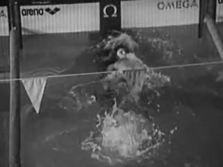 Техника спортивного плавания, Кроль на спине