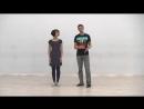 Видео-уроки Буги-вуги (Boogie-woogie). Beginners. Lesson 5. Triple step (eng subs).