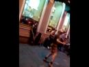 уличный музыканты Питера, и фитнес--дедушка!!!