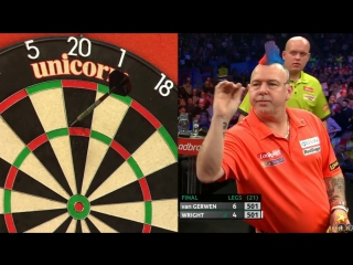 Michael van Gerwen vs Peter Wright (PDC World Series of Darts Finals 2016 / Final)