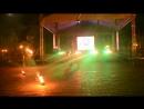 Fireshow от огнедышащей команды клуба из Могилева Дыхание огня ч.2 Фестиваль молодежи Разам Могилев. УВД.