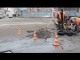 Ремонт дороги в Кропивницком