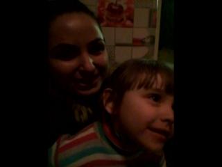 любимая крестная доча)