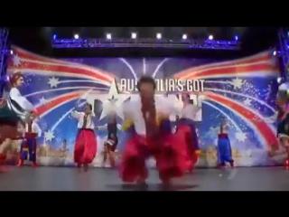 Украинский Гопак на австралийском телешоу