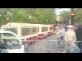 Очевидцы рассказали, как паровозик сбил ребенка в Парке Горького