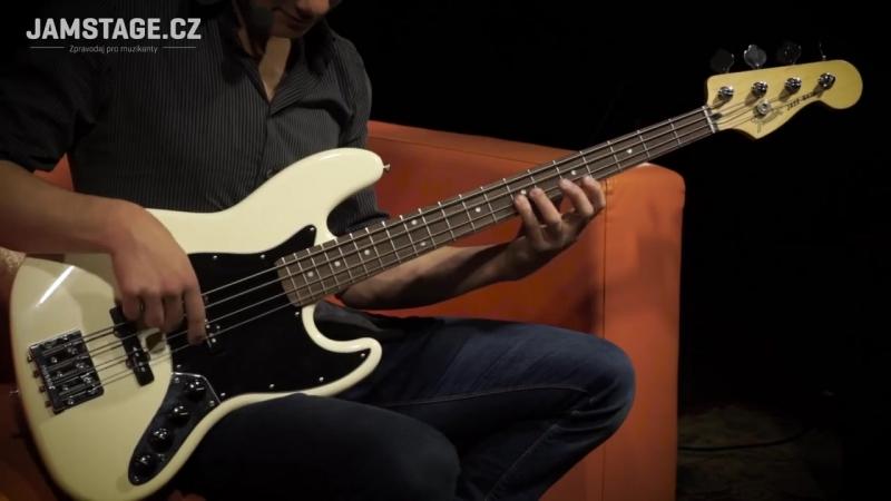 FENDER Deluxe Active Jazz Bass (Jožo Mikulka)