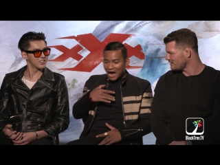 [INTERVIEW] 170408 Wu Yi Fan, Tony Jaa and Michael - Bisping XXX Return of Xandercage @ BlackTree TV Interview