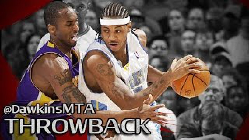 Rookie Carmelo Anthony vs Kobe Bryant Full Duel 2004.02.25 Lakers at Nuggets - 35 Pts Each!