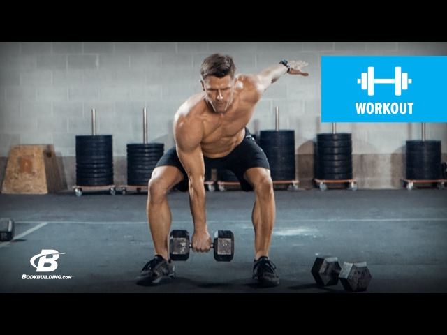 Andy Speer Full Body Dumbbell Workout