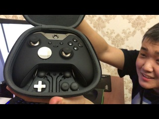 Распаковка двух офигенных геймпадов! Xbox One Elite controller и Dualshok 4 V2 Urban Camouflage