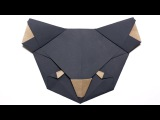 Origami Koala Bear. Origami for Kids