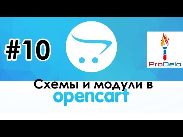 Как работать со схемами и модулями в Opencart 2 (OcStore 2.1.0.2.1) 10