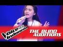 Dalilah Bawalah Cintaku I The Blind Auditions I The Voice Kids Indonesia GlobalTV 2016
