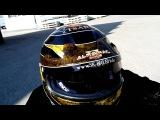 Victor Smolski Almanac Tsar Racing Helmet Airbrush &amp Pinstriping Design