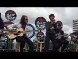 Cage the Elephant on the roof of the Altana 2112017 (LIVE Acoustic)