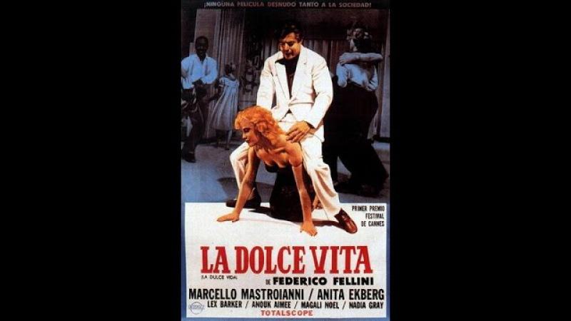 Сладкая жизнь (1960) (La Dolce vita) Федерико Феллини HD