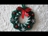 Рождественский веночек Christmas wreath