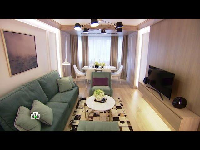Квартирный вопрос: Идеальное сочетание классики и современности в просторной гостиной-столовой