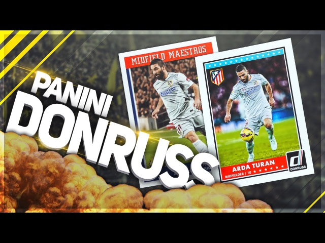 BOX OPENING 6/6 ✪ PANINI Donruss Soccer 2015 - Много тиражек!