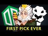Monkey King first pick on proscene OG vs Ad Finem
