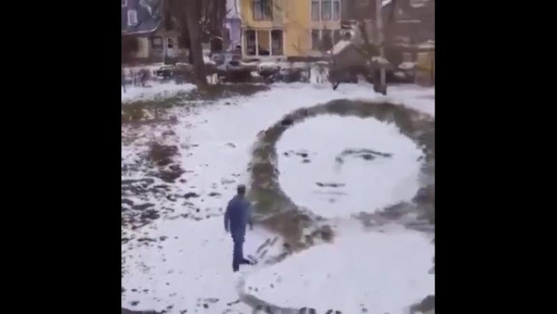 Мона Лиза На асфальте- это СУПЕР
