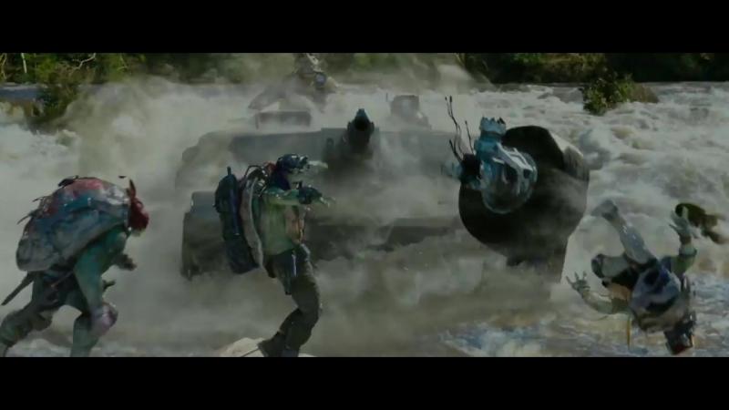Підлітки мутанти черепашки ніндзя 2 Teenage Ninja Turtles Український трейлер №2