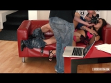 Nikki Waine, David Perry - Flexible Ukrainian teen Nikki Waine gets cum covered in dirty hard castin