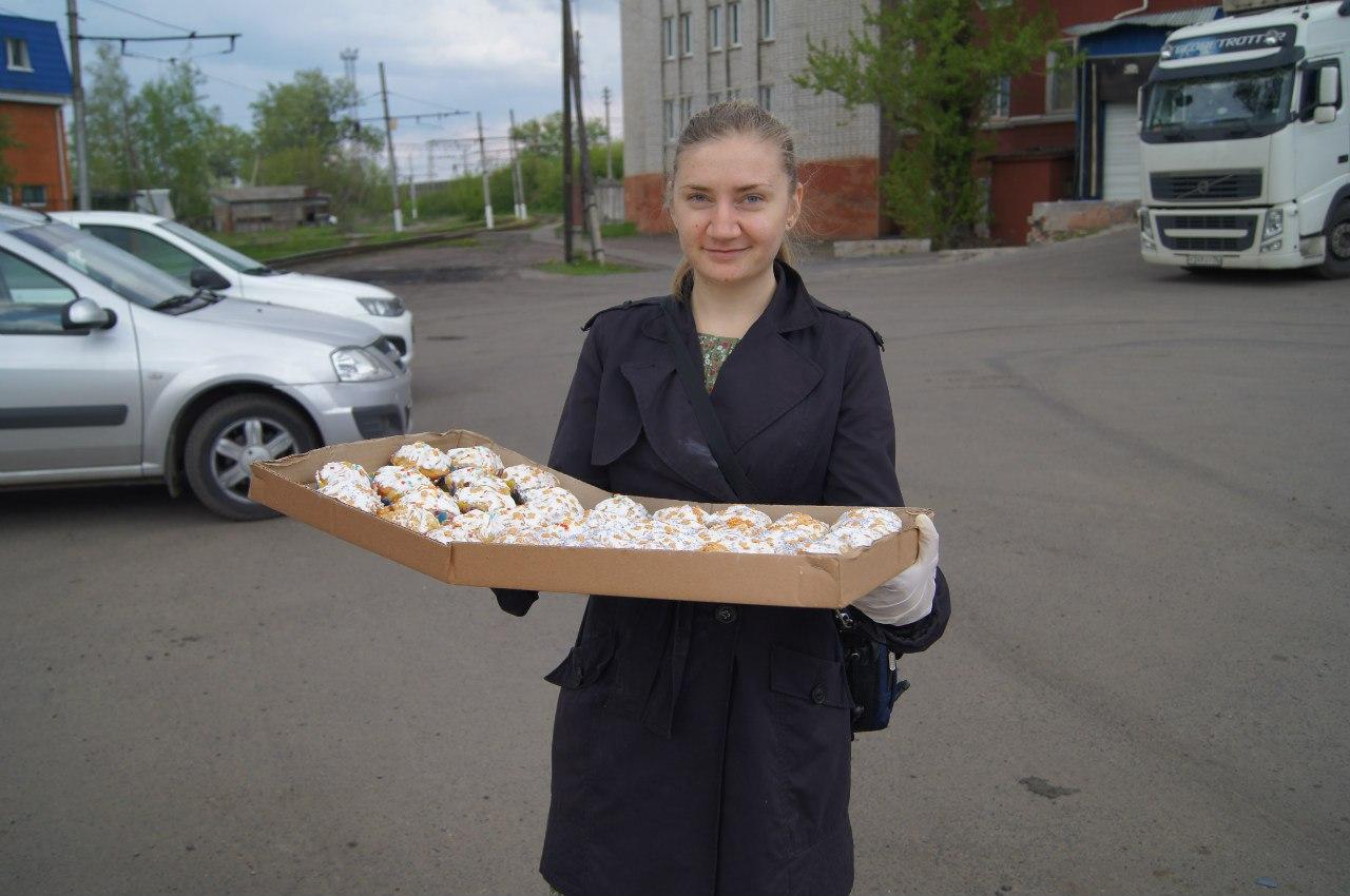 В Курске волонтеры устроят для бездомных пасхальный обед