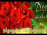 С Днем Рождения#мамочка#мама#мамуля#моя родная#любимая#красивый видео ролик#