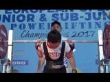 European Equipped Powerlifting Championships 2017. Daria Brazhnyk (UKR) vs Ekaterina Zhiltcova (RUS) - Squat