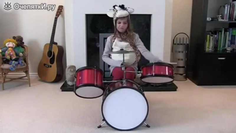 Playing small drummers (Игра маленьких барабанщиц)